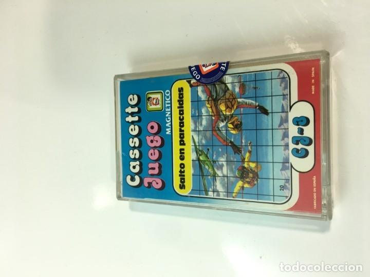 Juegos antiguos: Cassete Juego magnetico ,Salto en paracidas, CJ-3 Chicos,cinta,feber - Foto 3 - 176608487