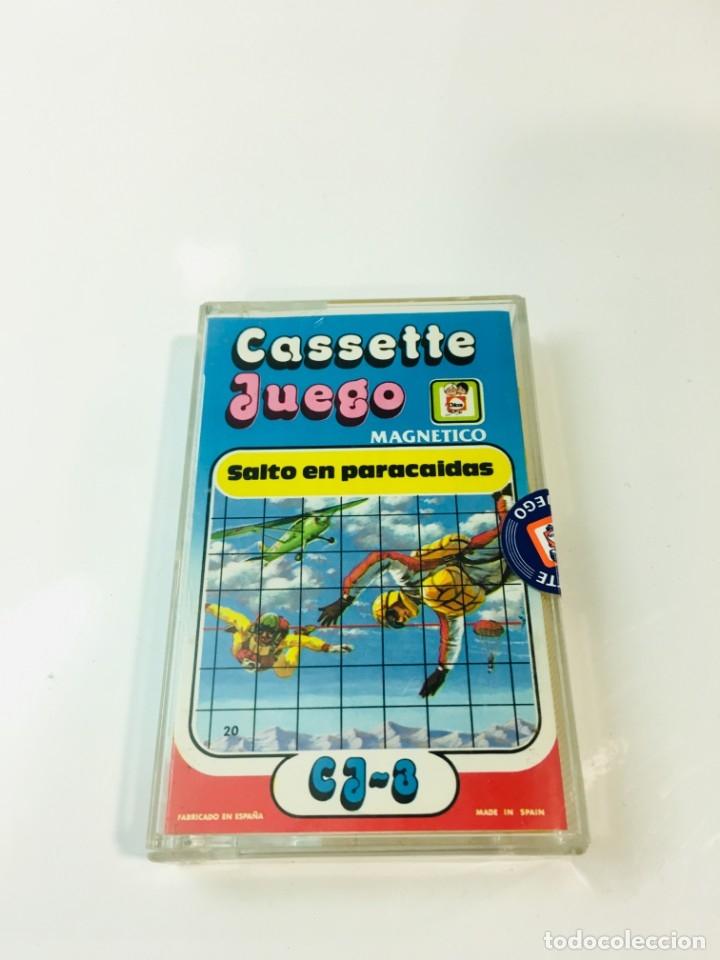 CASSETE JUEGO MAGNETICO ,SALTO EN PARACIDAS, CJ-3 CHICOS,CINTA,FEBER (Juguetes - Juegos - Otros)