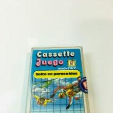 Juegos antiguos: CASSETE JUEGO MAGNETICO ,SALTO EN PARACIDAS, CJ-3 CHICOS,CINTA,FEBER. Lote 176608487