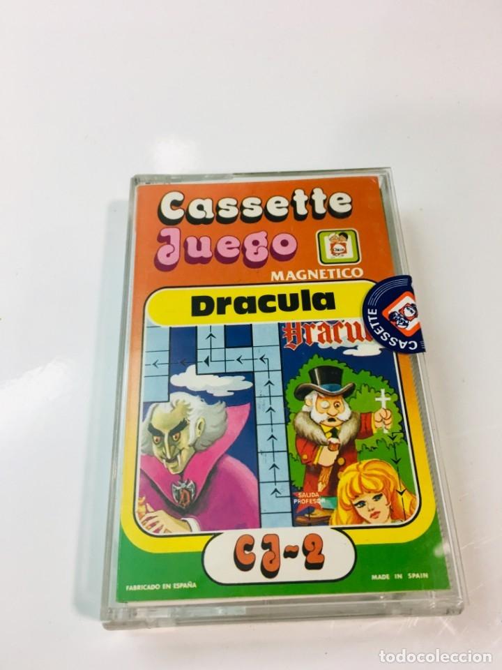 CASSETE JUEGO MAGNETICO ,DRACULA , CJ-2 CHICOS,CINTA,FEBER (Juguetes - Juegos - Otros)