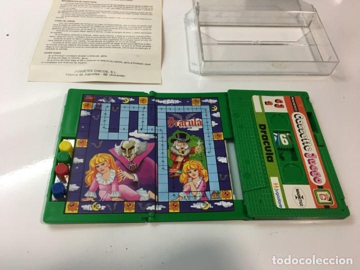 Juegos antiguos: Cassete Juego magnetico ,Dracula , CJ-2 Chicos,cinta,feber - Foto 2 - 176608564