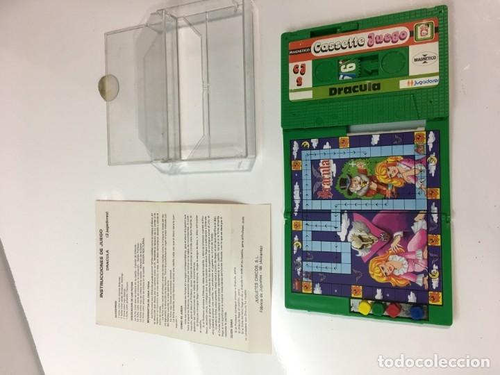 Juegos antiguos: Cassete Juego magnetico ,Dracula , CJ-2 Chicos,cinta,feber - Foto 4 - 176608564