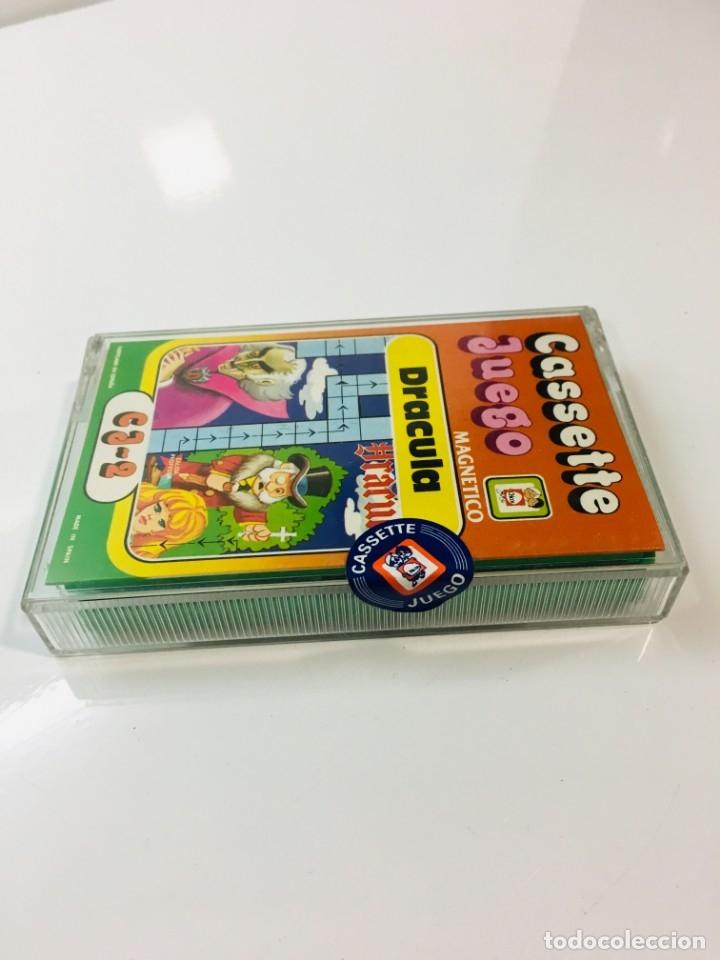 Juegos antiguos: Cassete Juego magnetico ,Dracula , CJ-2 Chicos,cinta,feber - Foto 7 - 176608564