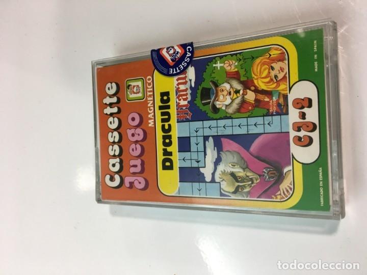 Juegos antiguos: Cassete Juego magnetico ,Dracula , CJ-2 Chicos,cinta,feber - Foto 8 - 176608564