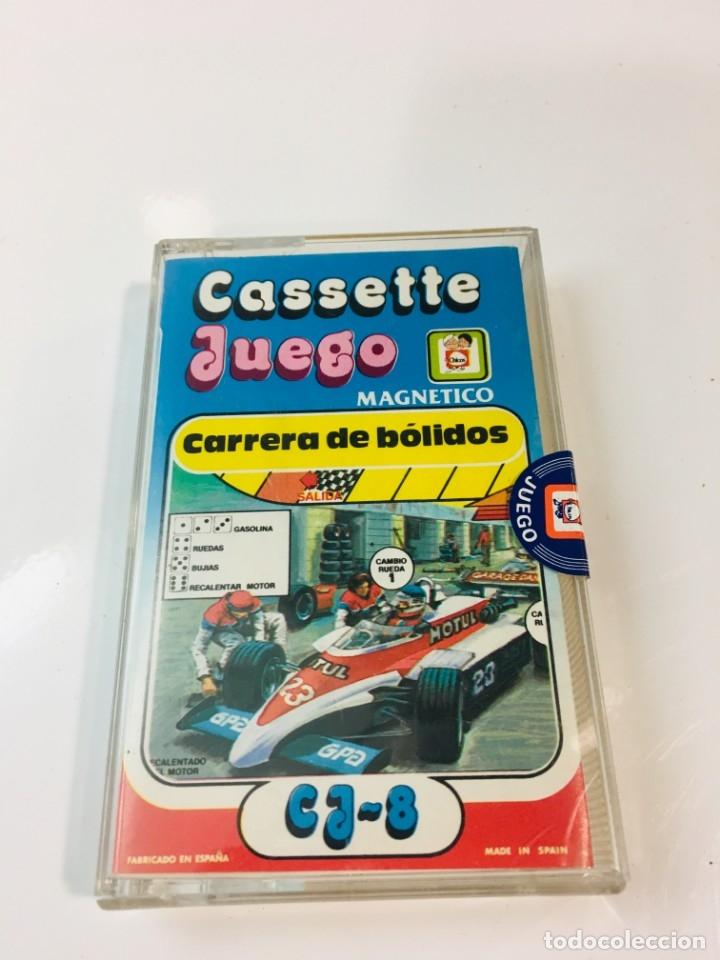 CASSETE JUEGO MAGNETICO ,CARRERA DE BOLIDOS, CJ-8 CHICOS,CINTA, FEBER (Juguetes - Juegos - Otros)