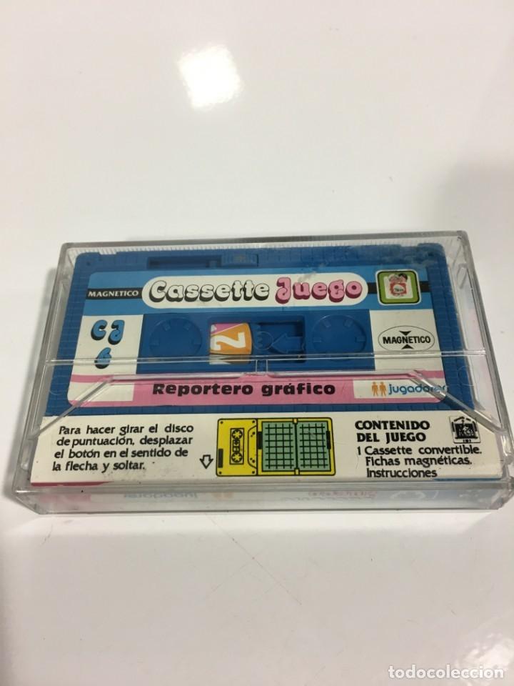 Juegos antiguos: Cassete Juego magnetico ,Reportero Grafico, CJ-6 Chicos,cinta, feber - Foto 3 - 176609897