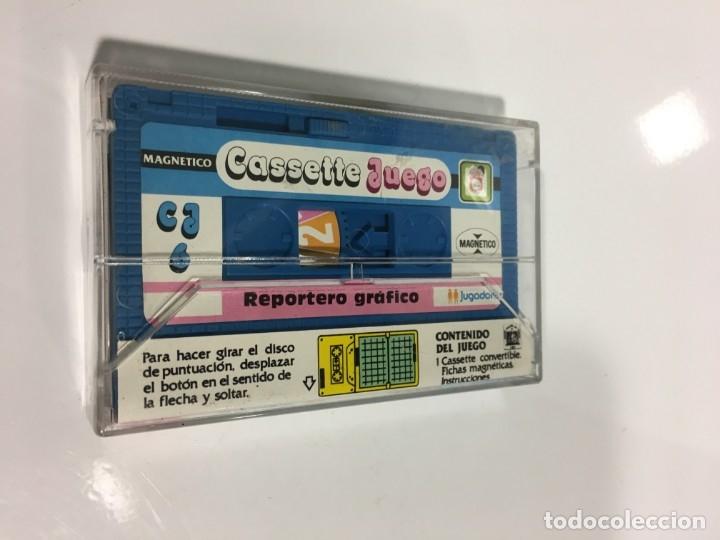 Juegos antiguos: Cassete Juego magnetico ,Reportero Grafico, CJ-6 Chicos,cinta, feber - Foto 4 - 176609897