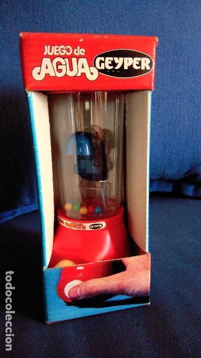 Juegos antiguos: Juego de agua Geyper. Ref 710 Nuevo con la caja original. Años 70/80. Dificil de encontrar - Foto 2 - 176810142