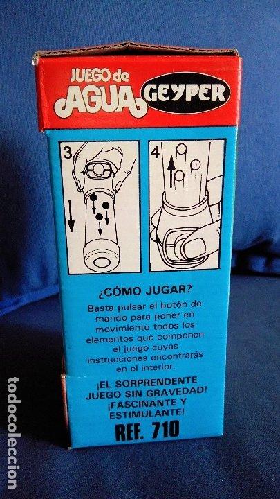 Juegos antiguos: Juego de agua Geyper. Ref 710 Nuevo con la caja original. Años 70/80. Dificil de encontrar - Foto 3 - 176810142