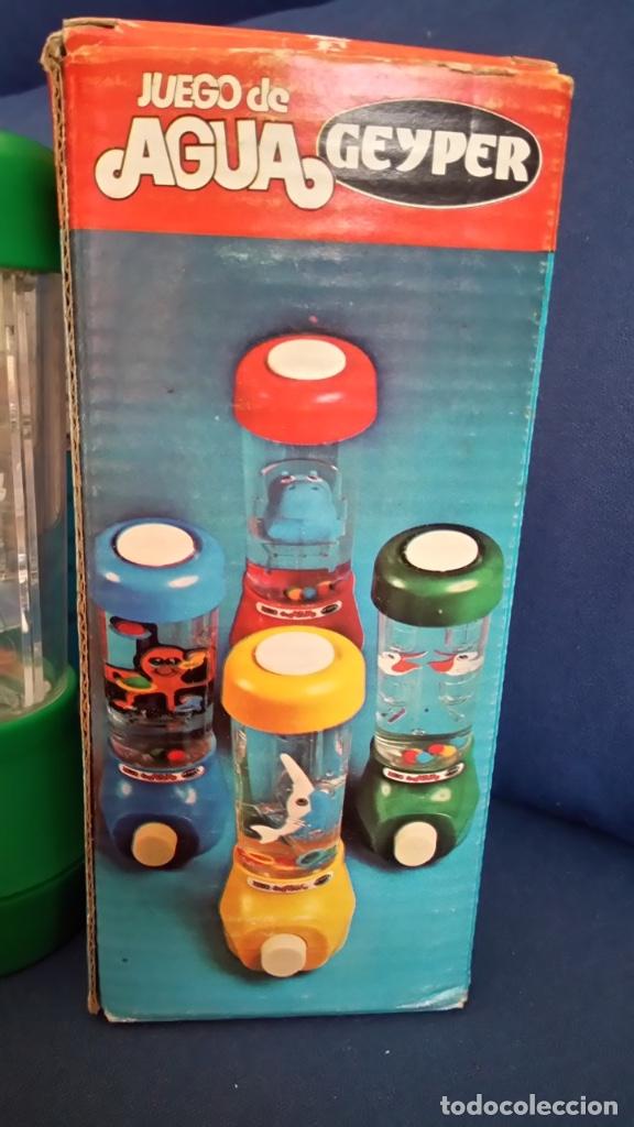 Juegos antiguos: Juego de agua Geyper. Ref 710 Nuevo con la caja original. Años 70/80. Dificil de encontrar - Foto 4 - 176810142