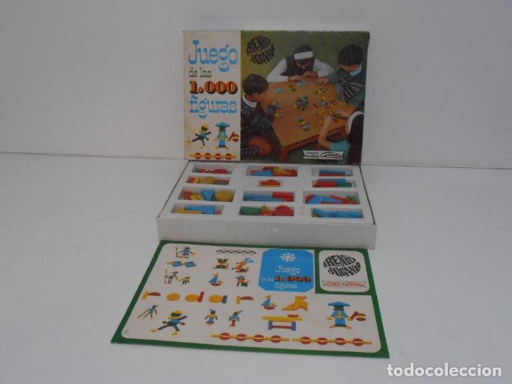 Juegos antiguos: JUEGO DE LAS 1000 FIGURAS, JUEGOS EDUCATIVOS GOULA, AÑOS 70 - Foto 2 - 176991669