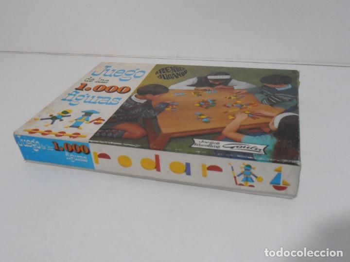 Juegos antiguos: JUEGO DE LAS 1000 FIGURAS, JUEGOS EDUCATIVOS GOULA, AÑOS 70 - Foto 5 - 176991669