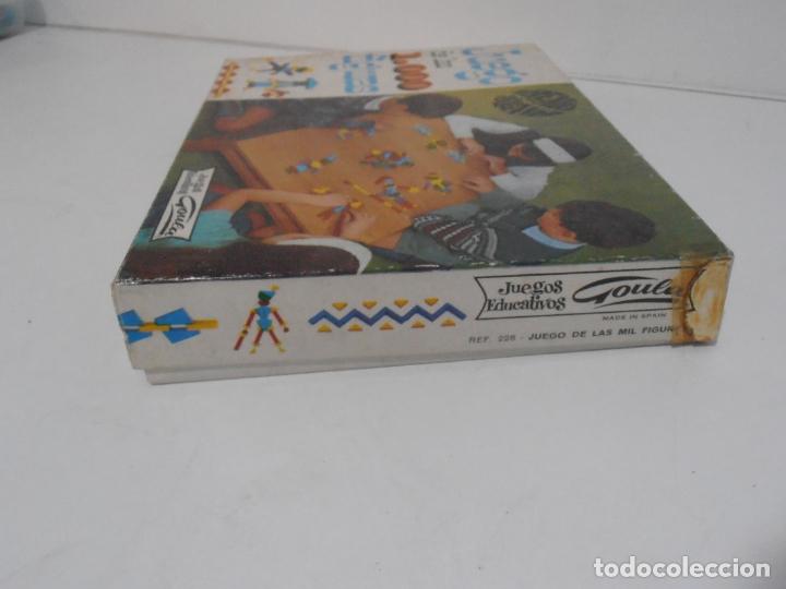 Juegos antiguos: JUEGO DE LAS 1000 FIGURAS, JUEGOS EDUCATIVOS GOULA, AÑOS 70 - Foto 6 - 176991669