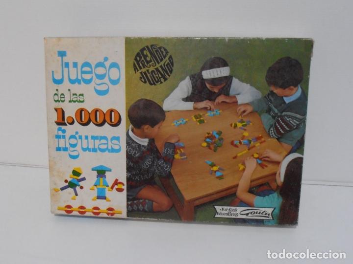 Juegos antiguos: JUEGO DE LAS 1000 FIGURAS, JUEGOS EDUCATIVOS GOULA, AÑOS 70 - Foto 8 - 176991669
