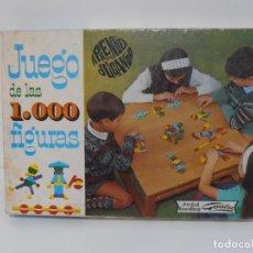 Juegos antiguos: JUEGO DE LAS 1000 FIGURAS, JUEGOS EDUCATIVOS GOULA, AÑOS 70. Lote 176991669