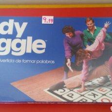 Juegos antiguos: JUEGO BODY BOGGLE LETRAS (SIMILAR A ENREDOS/TWISTER).PARKER 1984.NUEVO EN CAJA RETRACTILADA FÁBRICA.. Lote 192175553