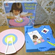 Juegos antiguos: JUEGO DE DISEÑO, RUEDA DE LA MODA, BREKAR / MB, 1981, MADE IN SPAIN. Lote 178040245