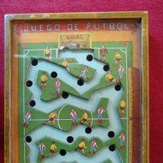 Juegos antiguos: ANTIGUO JUEGO DE FÚTBOL, JUEGO DE HABILIDAD. Lote 178087172