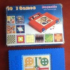 Giochi antichi: 10 JUEGOS EN 1. JUEOS MAGNETICOS . ENVIO INCLUIDO EN EL PRECIO.. Lote 178794088
