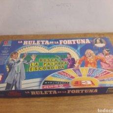 Juegos antiguos: LA RULETA DE LA FORTUNA. Lote 179011560
