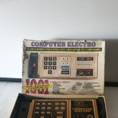 Juegos antiguos: COMPUTER ELECTRO. Lote 179041512