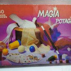 Juegos antiguos: JUEGO DE MAGIA POTAGIA DE FALOMIR , 160 TRUCOS , CON MANUAL, INCOMPLETO.. Lote 179052607