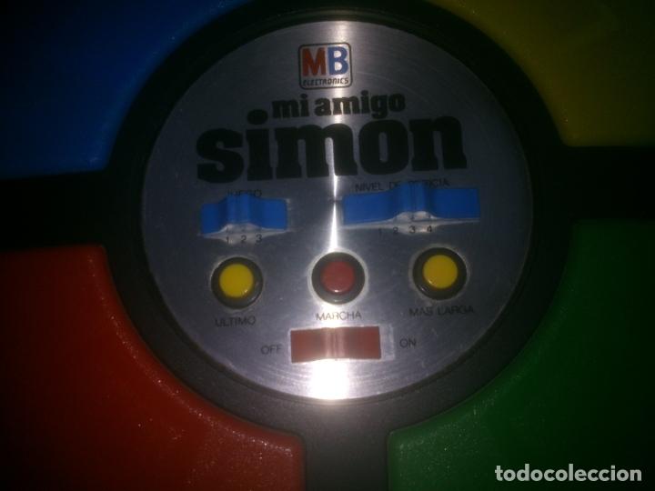 Juegos antiguos: Juego Mi Amigo Simón de MB - Foto 2 - 180258942