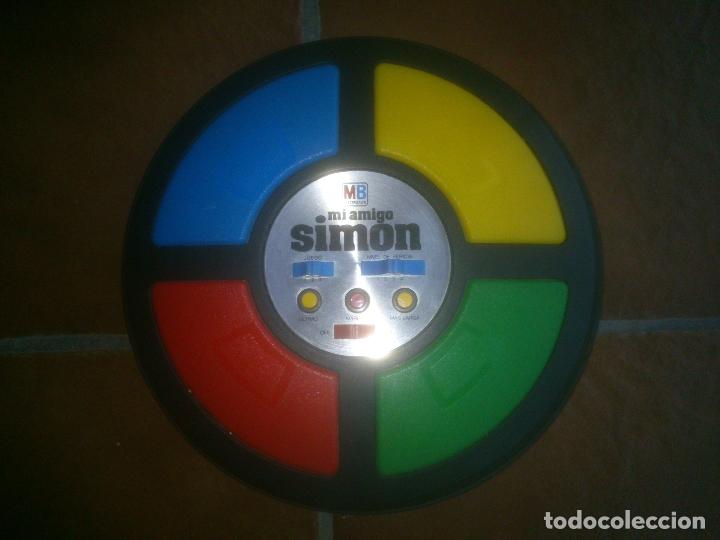 JUEGO MI AMIGO SIMÓN DE MB (Juguetes - Juegos - Otros)