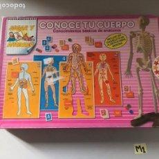 Juegos antiguos: CONOCE TU CUERPO. Lote 180875437