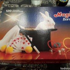 Juegos antiguos: 120 TRUCOS DE MAGIA BORRAS INCOMPLETO. Lote 182106740