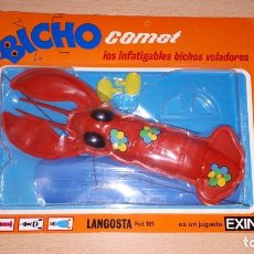 Juegos antiguos: BICHO COMET DE EXIN - LANGOSTA . Lote 182528972