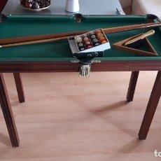 Juegos antiguos: JUEGO DE BILLAR AMERICANO - AÑOS 80.. Lote 183187520