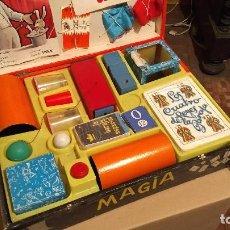 Juegos antiguos: MAGIA BORRÁS Nº 3 CAJA DE MADERA. AÑOS 60. Lote 183398082