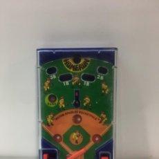 Jeux Anciens: JUEGO DE BOLSILLO HOMERUN DE TOMY, GEYPER, MINI PINBALL, JUGUETE DE CUERDA,. Lote 183963340