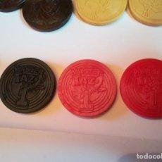 Juegos antiguos: VARIANTES MASTER TAZO Nº 1. NEGRO CON RELIEVE DORADO. VARIANTES COLOR. Lote 184100282