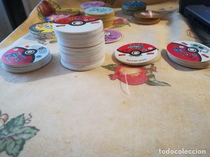 Juegos antiguos: POKEMON TAZO, TAZO 2, STICKER TAZO Y TAZO 3. 56 UNIDADES EN TOTAL - Foto 2 - 184201052