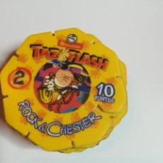 Juegos antiguos: 12 TAZO FLASH MATUTANO. ROCK Y CHESTER. 12 UNIDADES. NUEVOS.. Lote 184349033