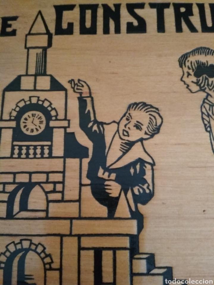 Juegos antiguos: Juego de construcción antiguo impecable - Foto 2 - 184919142