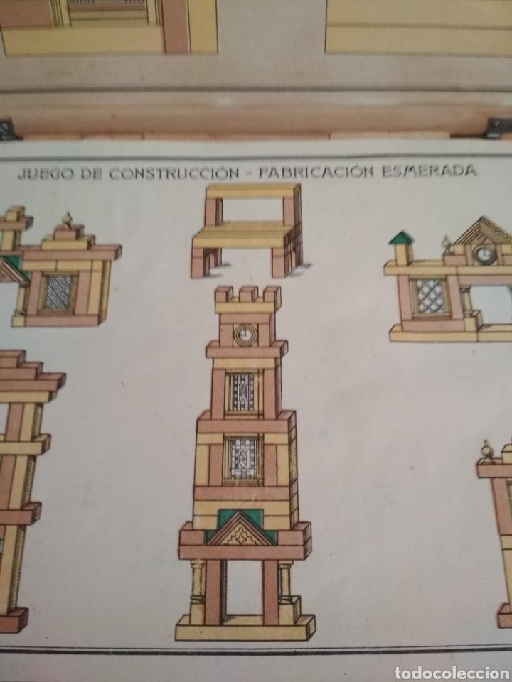Juegos antiguos: Juego de construcción antiguo impecable - Foto 3 - 184919142