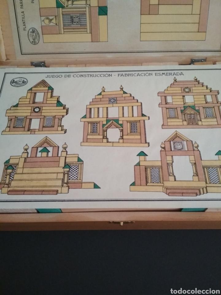 Juegos antiguos: Juego de construcción antiguo impecable - Foto 5 - 184919142