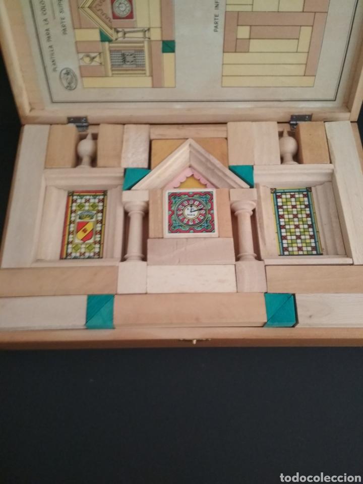 Juegos antiguos: Juego de construcción antiguo impecable - Foto 7 - 184919142