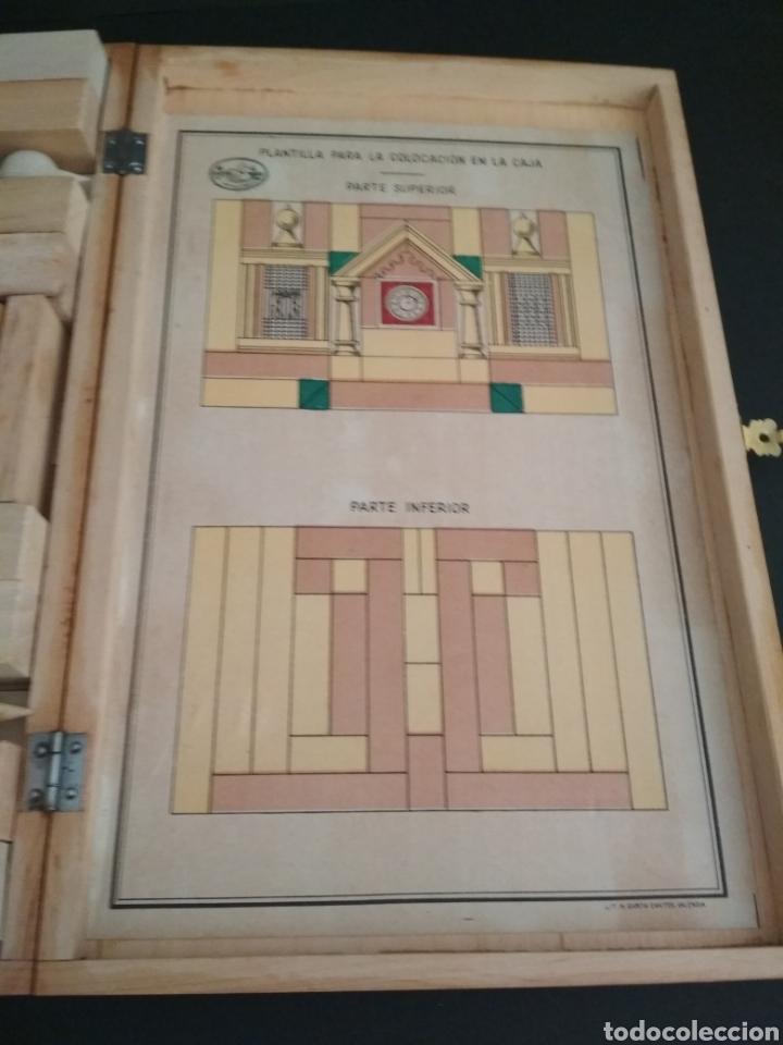 Juegos antiguos: Juego de construcción antiguo impecable - Foto 8 - 184919142