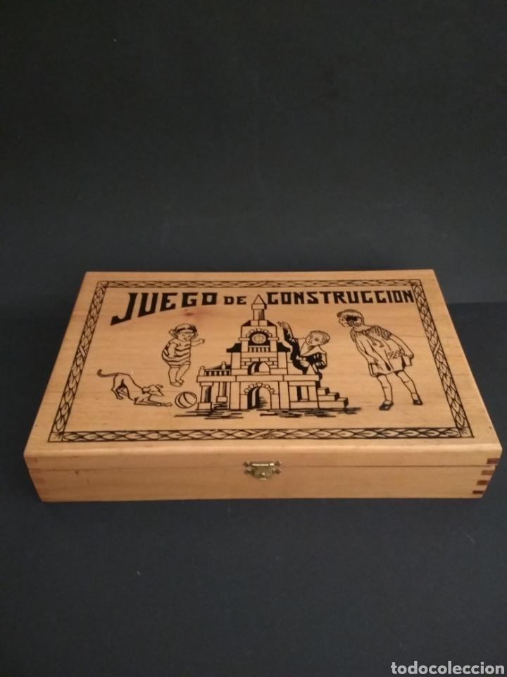 JUEGO DE CONSTRUCCIÓN ANTIGUO IMPECABLE (Juguetes - Juegos - Otros)