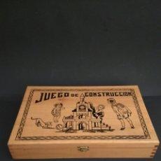 Juegos antiguos: JUEGO DE CONSTRUCCIÓN ANTIGUO. Lote 184919142
