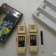 Juegos antiguos: WALKIE TALKIE MORTAL COMBAT ROBOT AÑOS 70-80 SPACE AGE. Lote 185888480