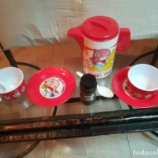 Juegos antiguos: ANTIGUO JUEGO DE CAFE EN PVC . Lote 186290801