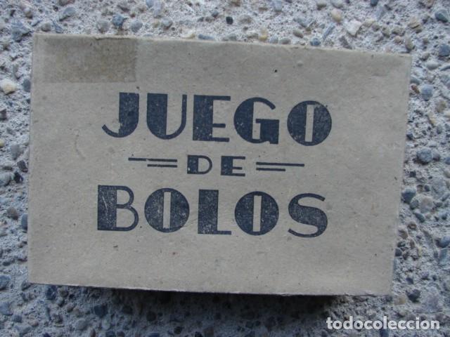 Juegos antiguos: ANTIGUO JUEGO DE BOLOS EN MADERA - Foto 2 - 187423963