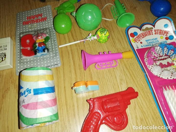 Juegos antiguos: Lote de juguetes y artículos años 80 kiosko, era EGB, cheiw, boomer, años 70,años 90,dunkin - Foto 8 - 187461025
