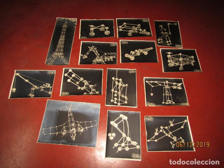 Juegos antiguos: Antiguo Juego de Construcción en Madera MONTAJES BIM BAM SUPER-RARO - Foto 4 - 187975400