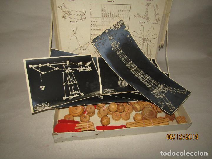 Juegos antiguos: Antiguo Juego de Construcción en Madera MONTAJES BIM BAM SUPER-RARO - Foto 10 - 187975400